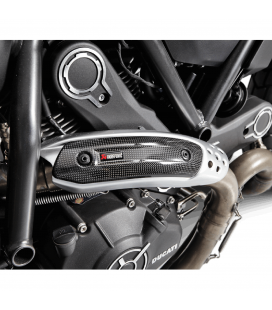 Paracalore Akrapovic In Fibra Di Carbonio Per Ducati Monster 797 Moto