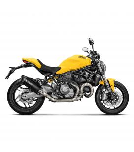 Ducati Monster 821 Collettore Di Scarico Akrapovic Tubo Elimina Kat Catalizzatore Evolution Titanio Moto