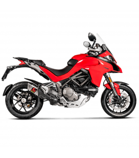 Ducati Multistrada 1200 Collettori Di Scarico Akrapovic Tubo Elimina Kat Catalizzatore Titanio Moto Silenziatore S-D12SO9-HAPT