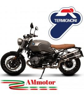 Terminali Di Scarico Con Raccordo Alto Termignoni Bmw R NineT Marmitta Conical Moto