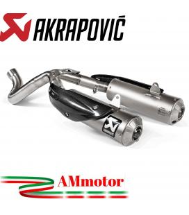 Ducati Scrambler 1100 Collettore Di Scarico Akrapovic Tubo Elimina Kat Catalizzatore Titanio Moto