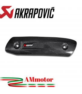 Paracalore Akrapovic In Fibra Di Carbonio Per Ducati Scrambler Cafe Racer Moto