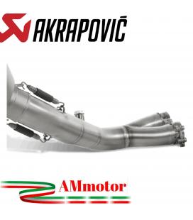 Honda Cb 1000 R Collettore Di Scarico Akrapovic Tubo Elimina Kat Inox Catalizzatore Moto