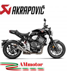 Akrapovic Honda Cb 1000 R 18 - 2020 Terminale Di Scarico Slip-On Line Titanio Moto