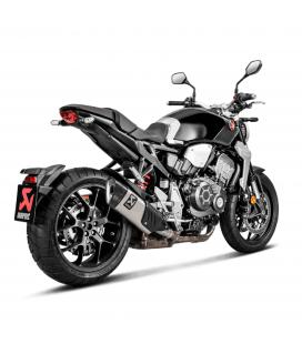 Akrapovic Honda Cb 1000 R 18 2020 Terminale Di Scarico Slip-On Line Titanio Moto Omologato