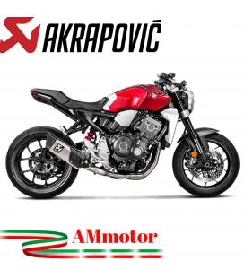 Honda Cb 1000 R Collettori Di Scarico Akrapovic Tubo Elimina Kat Inox Catalizzatore Moto