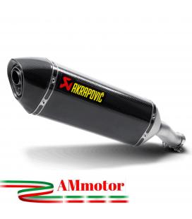 Akrapovic Honda Cb 400 / 500 X 13 - 2015 Terminale Di Scarico Slip-On Line Carbonio Moto Omologato
