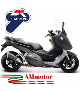 Terminale Di Scarico Termignoni Bmw C 600 Sport Marmitta Relevance Carbonio Moto Scooter