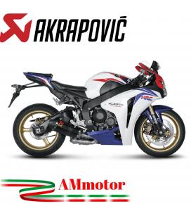 Akrapovic Honda Cbr 1000 RR Abs 08 2013 Terminale Di Scarico Slip-On Line Carbonio Moto