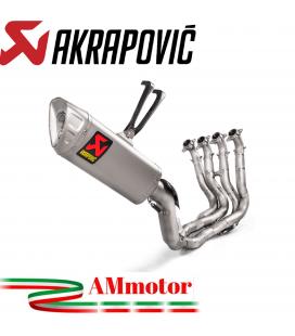 Akrapovic Honda Cbr 1000 RR Abs Impianto Di Scarico Completo Racing Line Terminale Titanio Moto