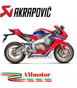 Akrapovic Honda Cbr 1000 RR Abs 17 2019 Terminale Di Scarico Slip-On Line Gp Titanio Moto