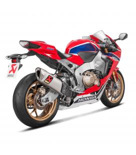 Akrapovic Honda Cbr 1000 RR Abs 17 2019 Terminale Di Scarico Slip-On Line Titanio Moto Omologato