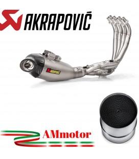 Akrapovic Honda Cbr 650 F Impianto Di Scarico Completo Racing Line Terminale Titanio Moto