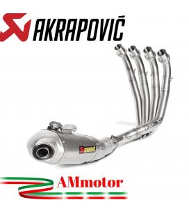 Akrapovic Honda Cbr 650 F Impianto Di Scarico Completo Racing Line Terminale Titanio Moto Non Omologato