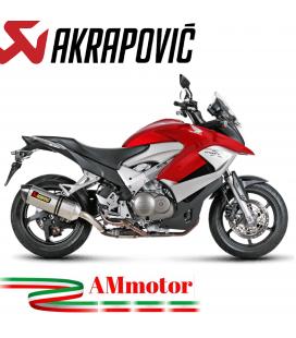 Akrapovic Honda Crossrunner 11 2014 Terminale Di Scarico Slip-On Line Titanio Moto Omologato