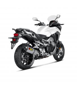Akrapovic Honda Crossrunner 15 2016 Terminale Di Scarico Slip-On Line Titanio Moto Omologato