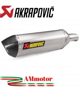 Akrapovic Honda Crossrunner 17 2018 Terminale Di Scarico Slip-On Line Titanio Moto Omologato