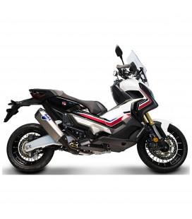 Paracalore Termignoni In Fibra Di Carbonio Per Collettore Honda X-Adv Moto Scooter