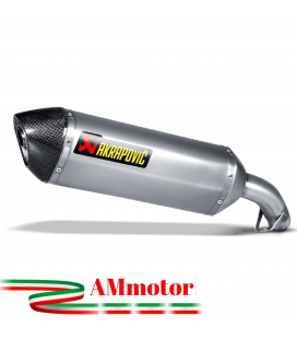 Akrapovic Honda Vfr 800 F 14 2016 Terminale Di Scarico Slip-On Line Titanio Moto Omologato