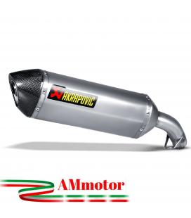 Akrapovic Honda Vfr 800 X 14 2016 Terminale Di Scarico Slip-On Line Titanio Moto Omologato