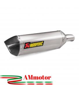 Akrapovic Honda Vfr 800 X 17 2019 Terminale Di Scarico Slip-On Line Titanio Moto Omologato