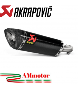 Akrapovic Kawasaki Ninja 250 Terminale Di Scarico Slip-On Line Carbonio Moto