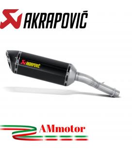 Akrapovic Kawasaki Versys 1000 12 2018 Terminale Di Scarico Slip-On Line Carbonio Moto Omologato Euro 4