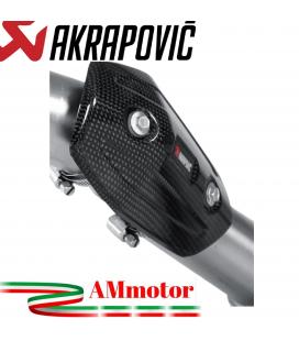 Paracalore Akrapovic In Fibra Di Carbonio Per Kawasaki Versys 1000 Moto
