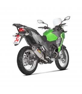Akrapovic Kawasaki Versys-X 250 / 300 Terminale Di Scarico Slip-On Line Titanio Moto Omologato
