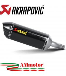 Akrapovic Kawasaki Z 300 Terminale Di Scarico Slip-On Line Carbonio Moto Omologato