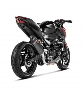 Akrapovic Kawasaki Z 400 Terminale Di Scarico Slip-On Line Carbonio Moto