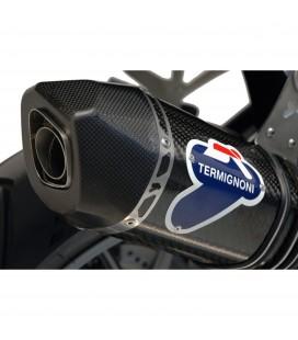 Terminale Di Scarico Termignoni Bmw R 1200 Gs Marmitta Relevance Titanio Carbonio Moto