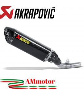 Akrapovic Kawasaki Z 800 E Terminale Di Scarico Slip-On Line Carbonio Moto Omologato