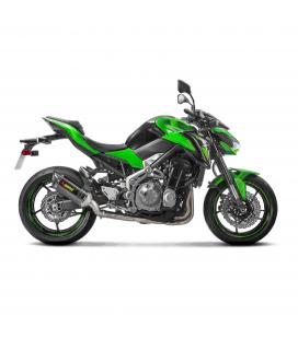 Kawasaki Z 900 17 - 2019 Collettori Di Scarico Akrapovic Tubo Elimina Kat Inox Catalizzatore Moto