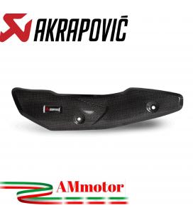 Paracalore Akrapovic In Fibra Di Carbonio Per Kawasaki Z 900 Moto