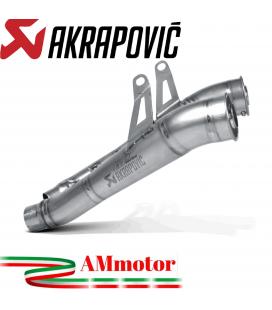 Akrapovic Kawasaki Z 1000 10 2013 Terminali Di Scarico Slip-On Line Megaphone Titanio Moto