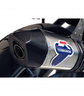 Terminale Di Scarico Termignoni Bmw R 1200 Gs Marmitta Relevance Inox Titanio Moto