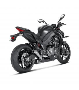 Akrapovic Kawasaki Z 1000 14 2019 Terminali Di Scarico Slip-On Line Megaphone Titanio Moto