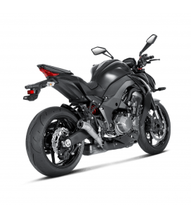 Akrapovic Kawasaki Z 1000 14 2020 Terminali Di Scarico Slip-On Line Megaphone Titanio Moto