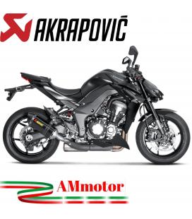 Akrapovic Kawasaki Z 1000 17 2019 Terminali Di Scarico Slip-On Line Carbonio Moto Omologato