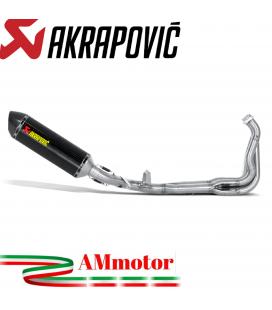 Akrapovic Kawasaki Z 1000 Sx 10 2013 Impianto Di Scarico Completo Racing Line Terminale Carbonio Moto