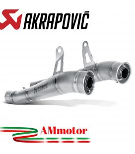 Akrapovic Kawasaki Z 1000 Sx 14 2019 Terminali Di Scarico Slip-On Line Megaphone Titanio Moto