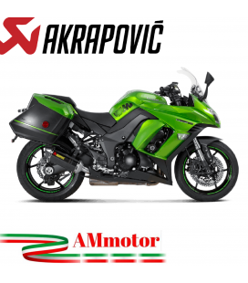Akrapovic Kawasaki Z 1000 Sx 14 2016 Terminali Di Scarico Slip-On Line Carbonio Moto Omologato