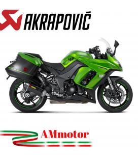 Akrapovic Kawasaki Z 1000 Sx 17 2019 Terminali Di Scarico Slip-On Line Carbonio Moto Omologato