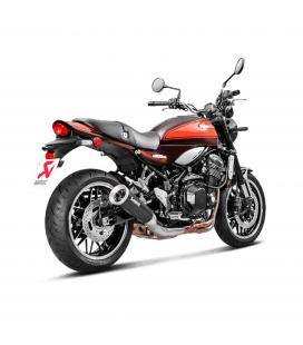 Akrapovic Kawasaki Z 900 Rs Cafe Terminale Di Scarico Slip-On Line Titanio Black Moto Omologato