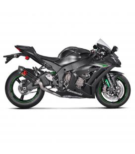 Akrapovic Kawasaki Zx-10 R 16 2019 Tubo Elimina Kat Catalizzatore Moto Collettore Scarico Titanio