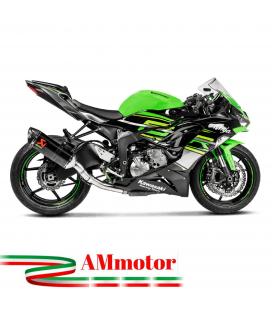 Akrapovic Kawasaki Zx-6 R Tubo Elimina Kat Catalizzatore Moto Collettore Scarico Inox