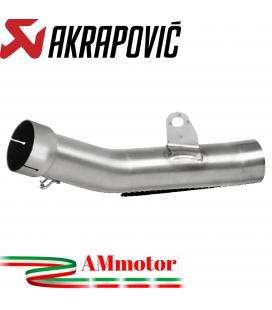 Akrapovic Kawasaki Zx-6 R 636 Tubo Elimina Kat Catalizzatore Moto Collettore Scarico Inox