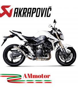 Akrapovic Suzuki Gsr 750 Terminale Di Scarico Slip-On Line Megaphone Titanio Moto