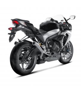 Akrapovic Suzuki Gsx-R 1000 09 2011 Terminali Di Scarico Slip-On Line Megaphone Titanio Moto